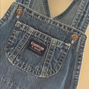 OshKosh B'gosh Bottoms - OshKosh Toddler Girl Shortall Overall Shorts
